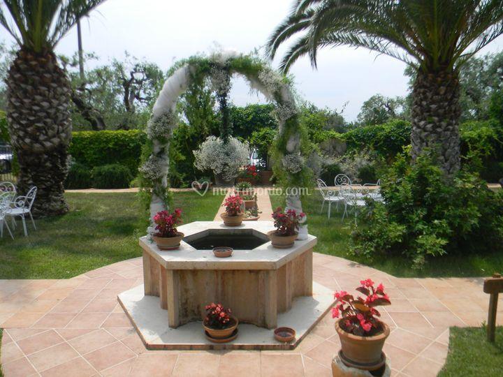 I giardini dell 39 erbavoglio for Decorazione giardino matrimonio