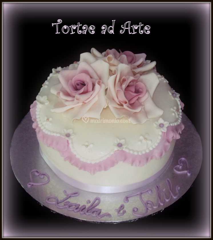 Torte Per Anniversario Matrimonio.Torta Anniversario Di Torte Ad Arte Foto 63