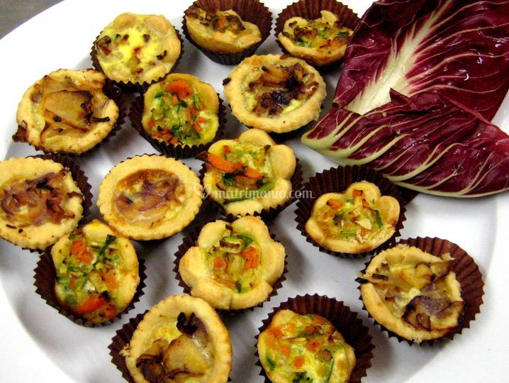 Mini quiche assortite