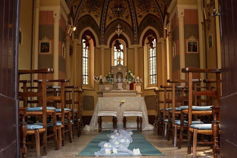 La cappella in stile neogotico