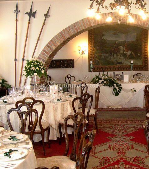 I saloni medievali di castello di spessa foto 34 for Foto di saloni