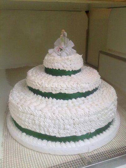 La classica torta monumentale