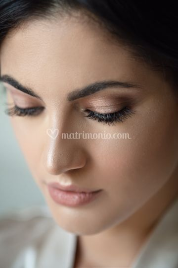 Dettagli bridal make-up