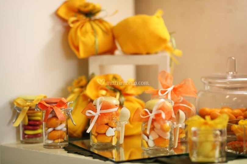 Bomboniere in giallo