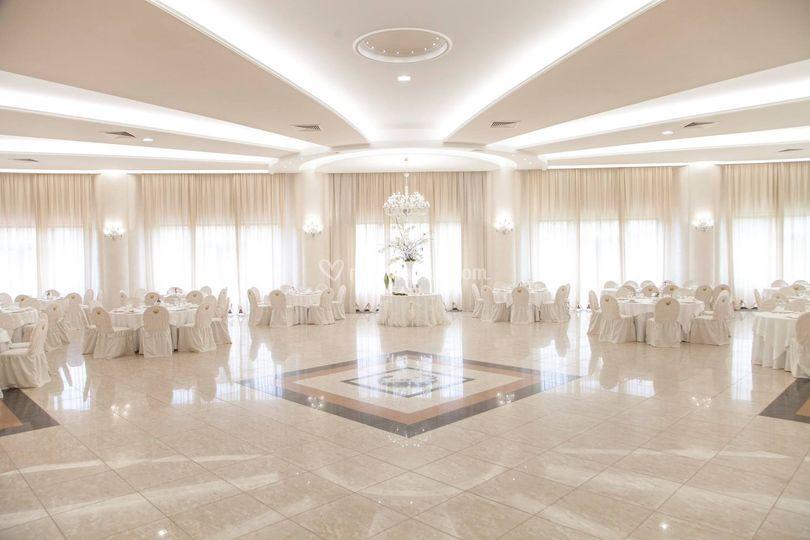 Panoramica sala