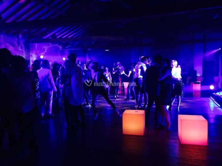 Light Design Dancefloor