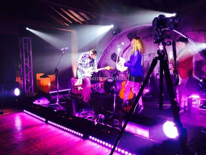 Live Band, Service Audio/Luci