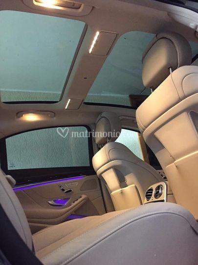 Interni Mercedes classe S Lung