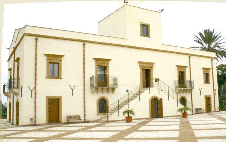 Facciata Villa Parlapiano