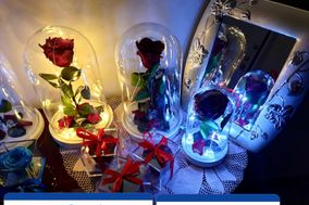 Beauty And The Beast's Flowers And Designs