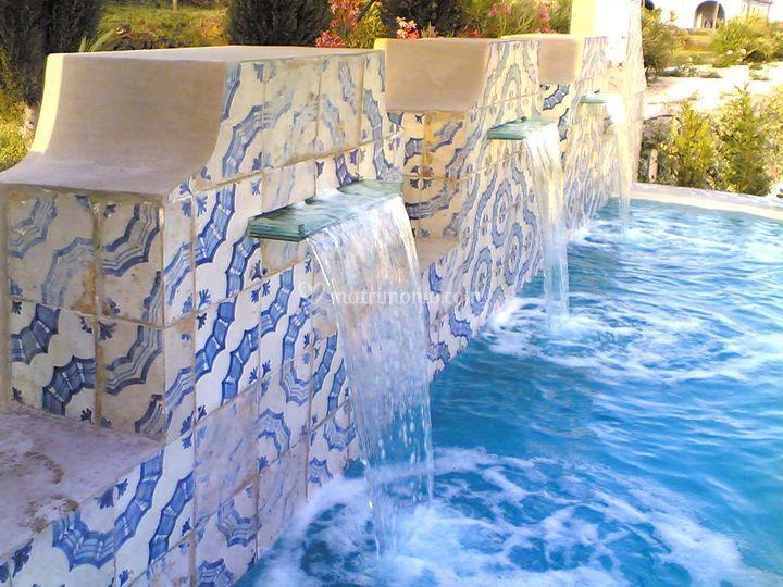 La fontana azzurra