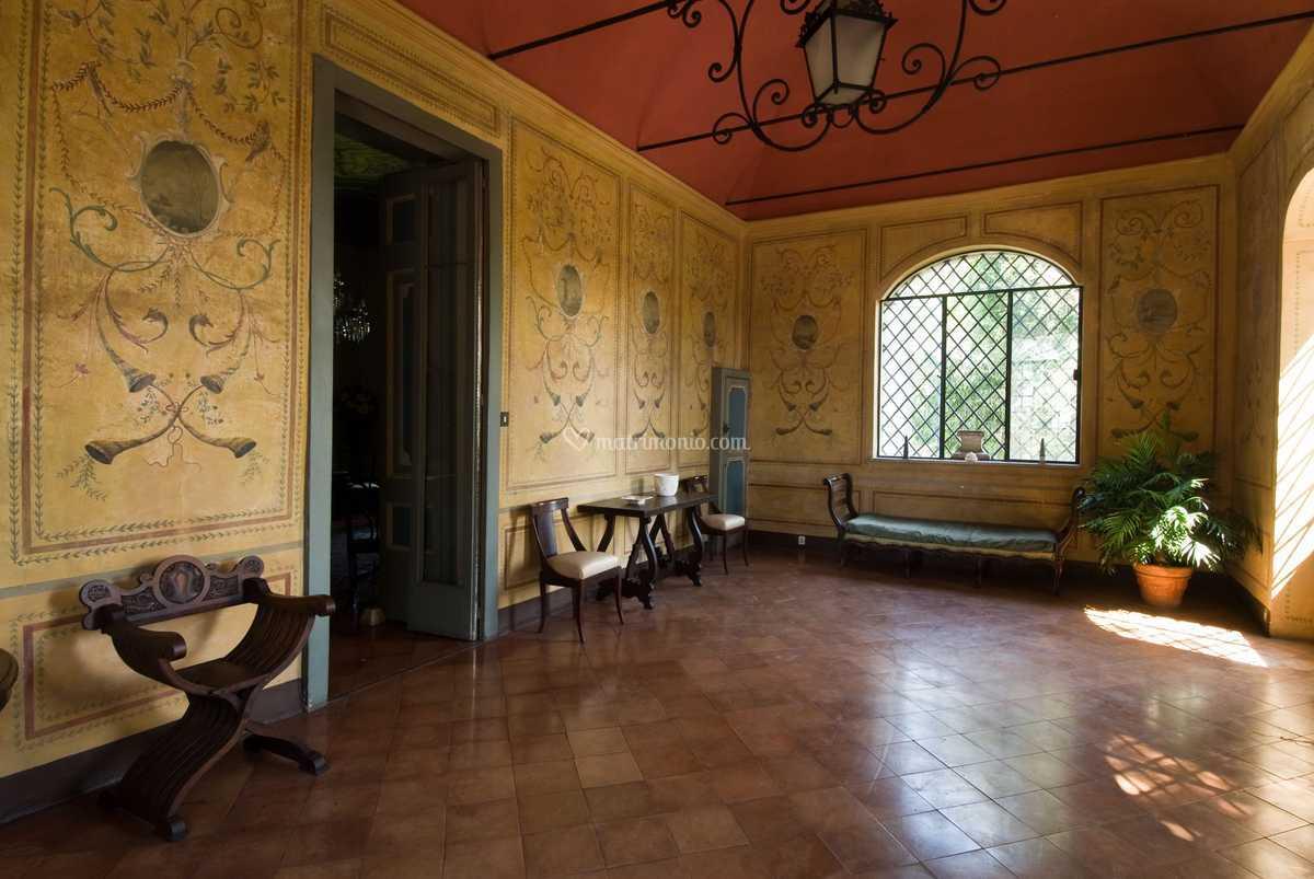 Terrazzo coperto di Villa Tufarelli   Foto 4