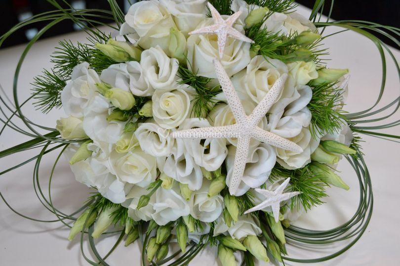 Bouquet con stelle marine