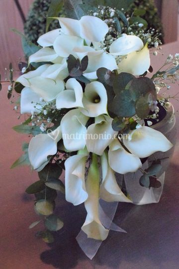 Bouquet ricadente con calle