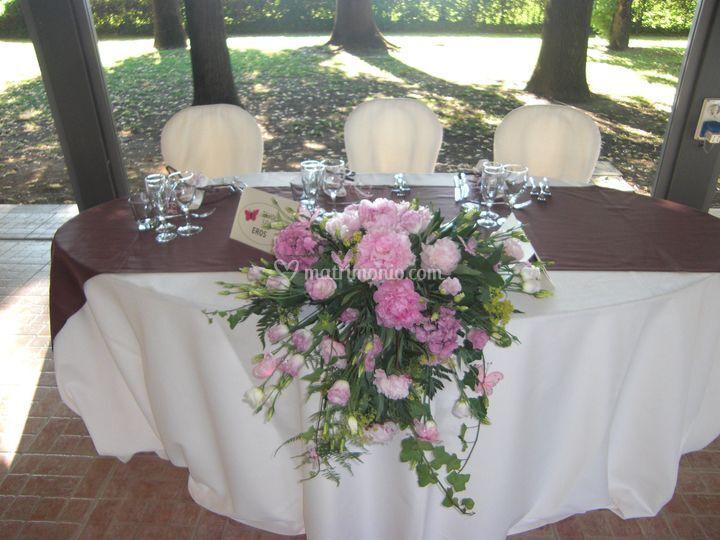 Catering tavolo sposi di clessidra ristorante bistrot fotos - Clessidra da tavolo ...