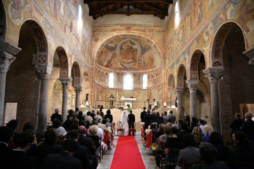 Panoramica di chiesa