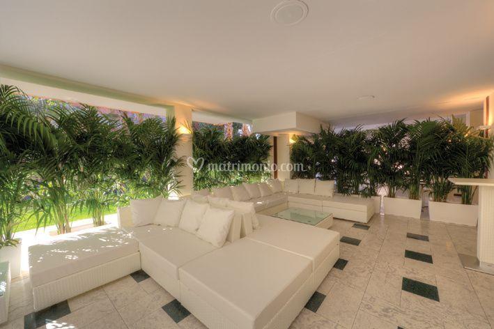White Lounge esterna Sala Doge