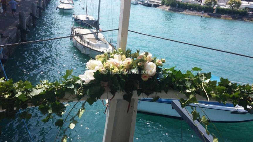 Matrimonio In Barca : Matrimonio in barca sul lago di caterina pellizzari foto