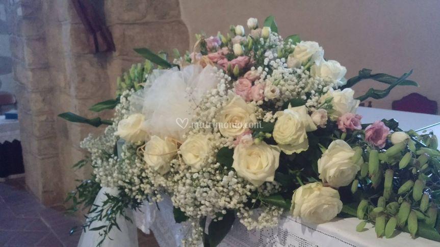 Addobbo fiori chiesa