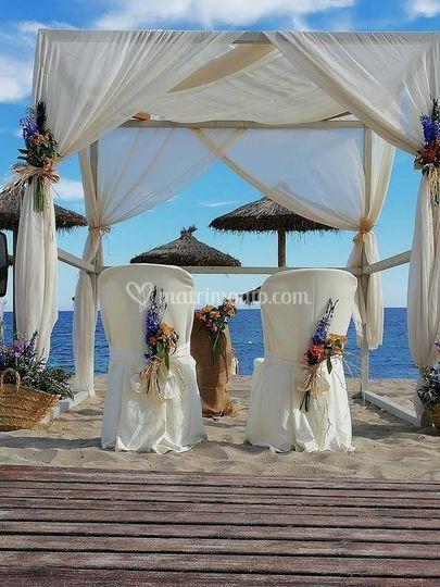 Wedding in Formentera