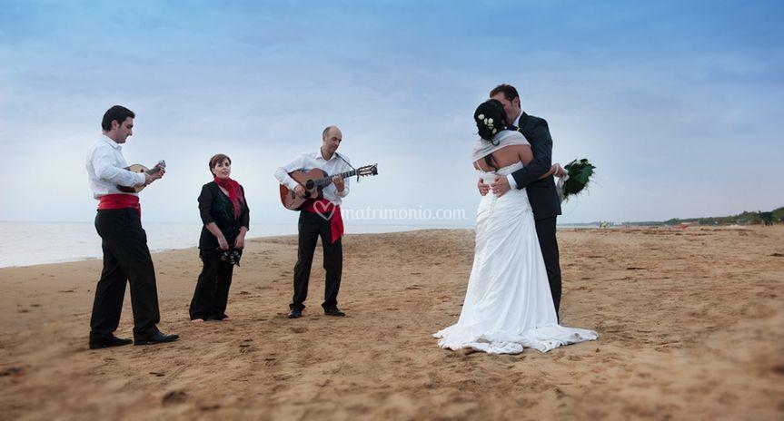 Serenata in riva al mare