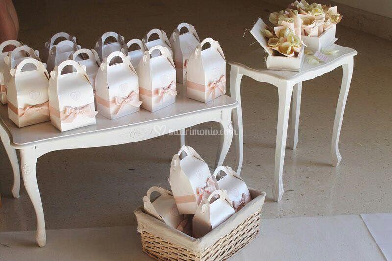 Wedding bags  per gli ospiti