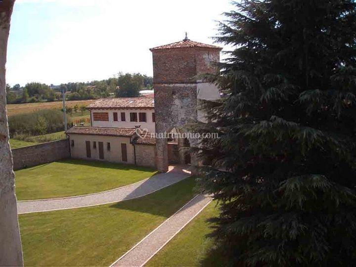 La torre dalla villa