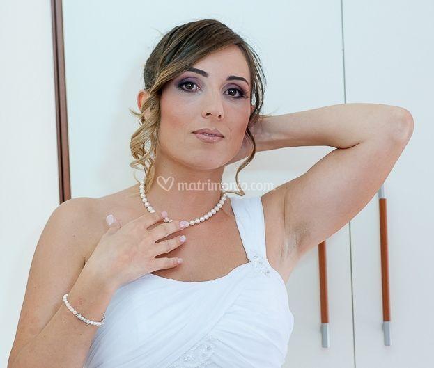 Collana,bracciale orecchini