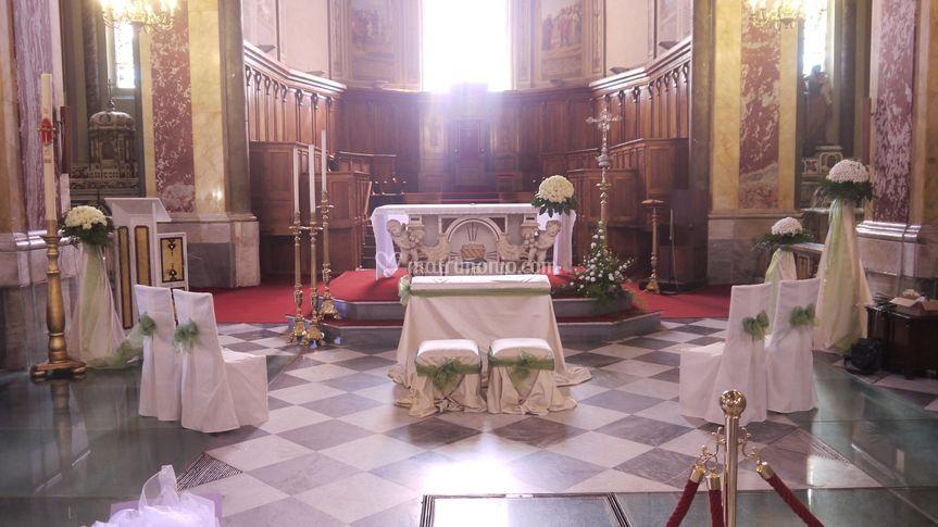 Allestimento cattedrale