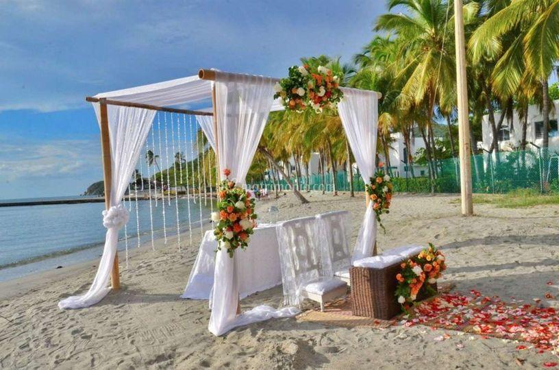 Gazebo Matrimonio Spiaggia : Fantasy express