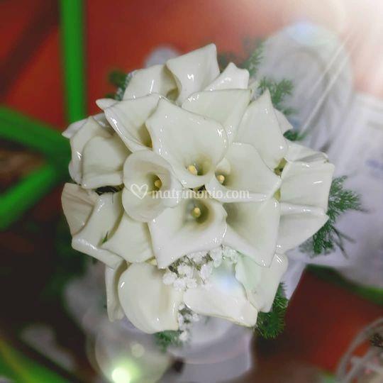 Bouquet callette bianche