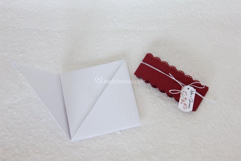 Partecipazione origami Sara