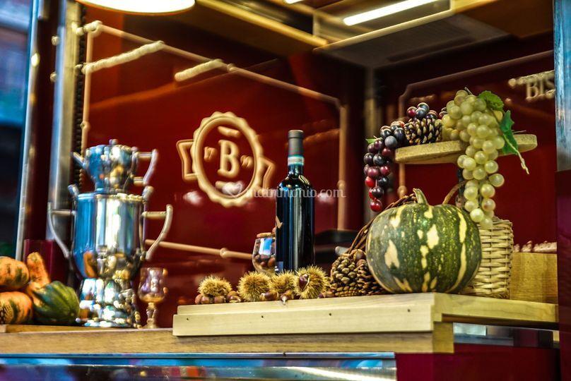 Angolo castagne e vin brulè