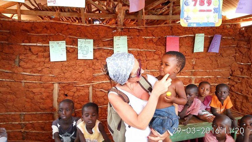 Stefania in uganda