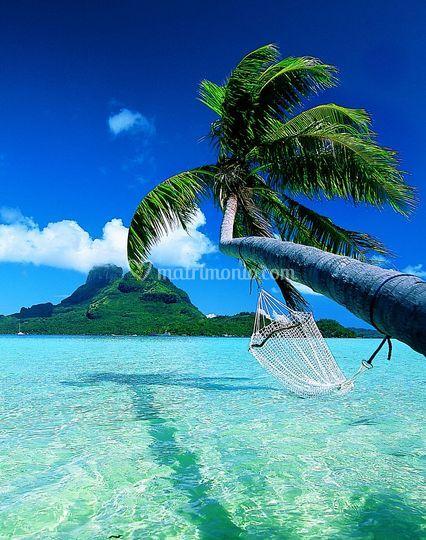 Viaggio di nozze in paradiso a Bora Bora