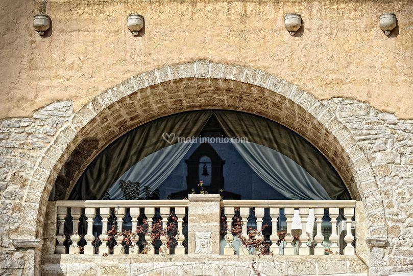 Il balcone padronale