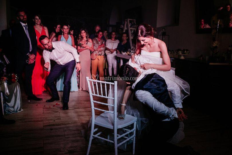 Entertainment show wedding