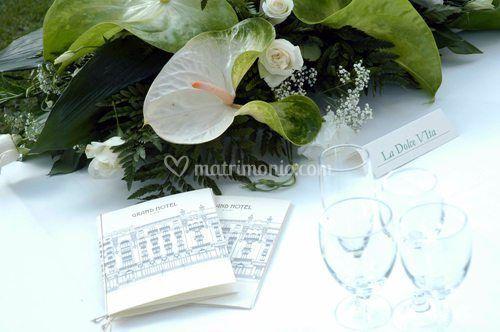 Il menù del banchetto di nozze