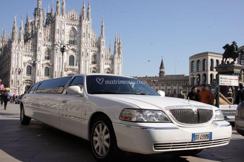 Matrimonio limousine