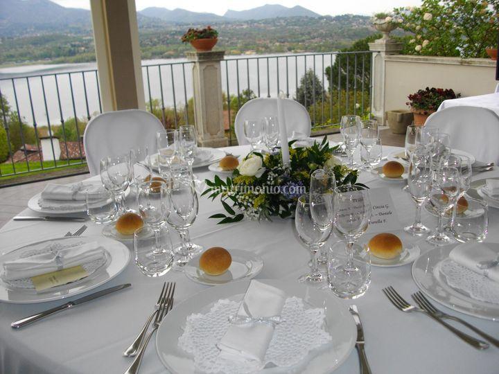 Villa Calmia - vista lago