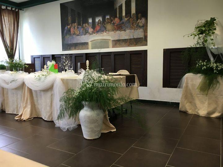 Tavolo allestito di Hotel FIera Rho - Terrazzano Cafè | Foto 24