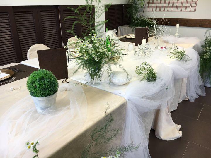 Allestimento in verde di Hotel FIera Rho - Terrazzano Cafè | Foto 25