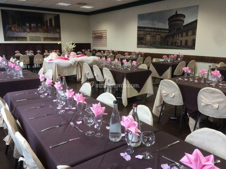 Sala in rosa di Hotel FIera Rho - Terrazzano Cafè | Foto 27