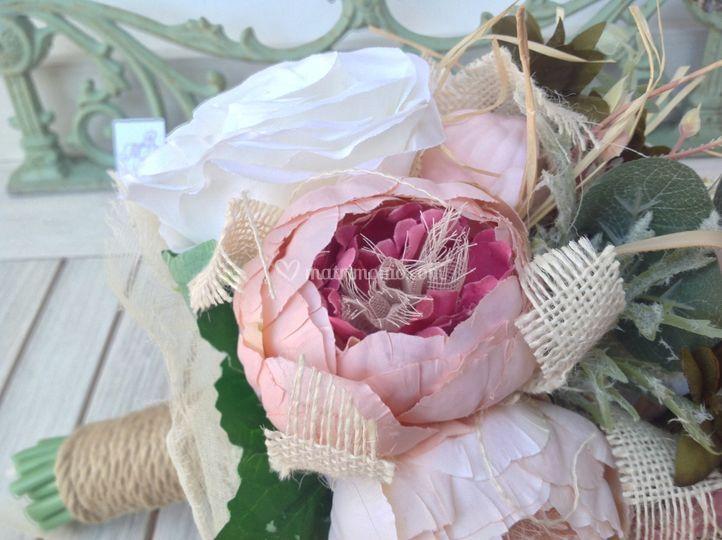 Bouquet boho chic