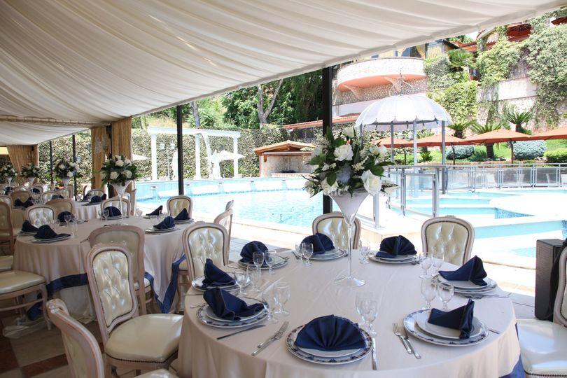 Sala bordo piscina