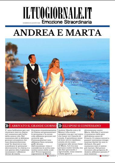 Andrea e Marta ci sono....