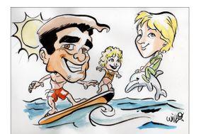 Will.O - Marco Stefanni Caricature