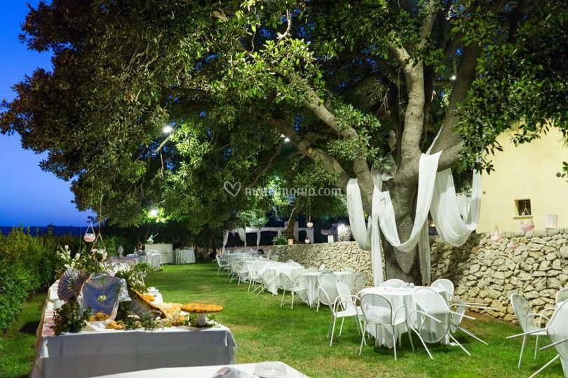 Buffet sotto la quercia