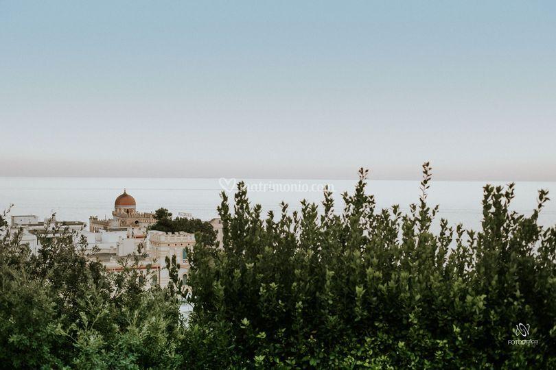 Panorama Cala dei Balcani