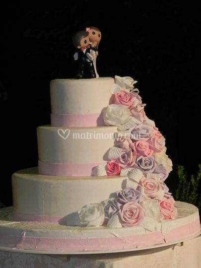 La torta in lilla